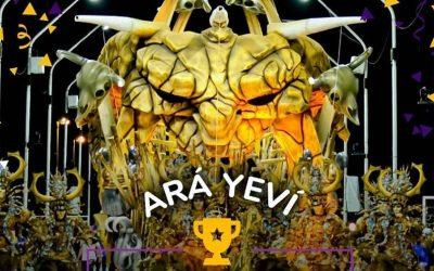 """""""Ará Yeví"""" es la Comparsa campeona del Carnaval 2018"""