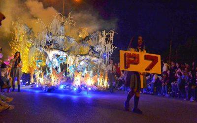Edición 2018 de la Fiesta Nacional de Carrozas Estudiantiles