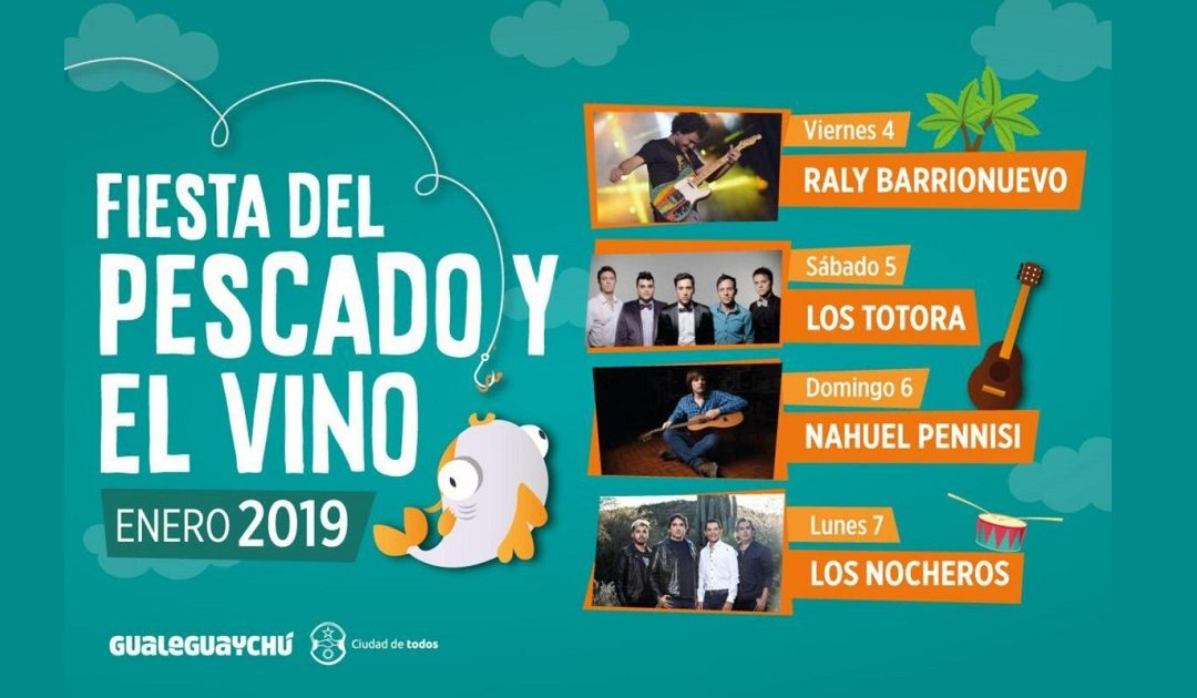 Fiesta del Pescado y el Vino 2019 en Gualeguaychú