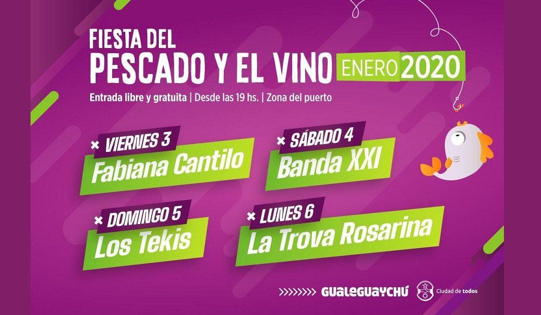 Fiesta del Pescado y el Vino Gualeguaychú 2020