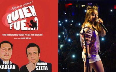 """""""Quién Fue"""" y Karol Sevilla en el Teatro Gualeguaychú"""